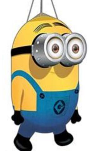 "Minion Dave 3D Nylon Windsock, 26"" Tall"
