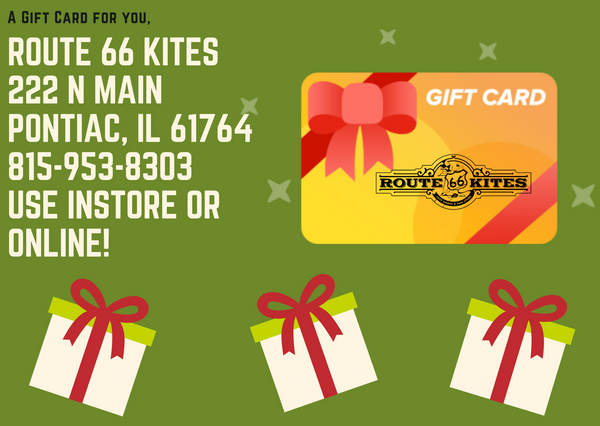 Route 66 Kites and Board Games Gift Card