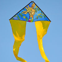 Giraffe Zippy Flo-Tail Delta Kite