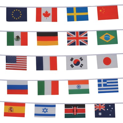 International String of Flags