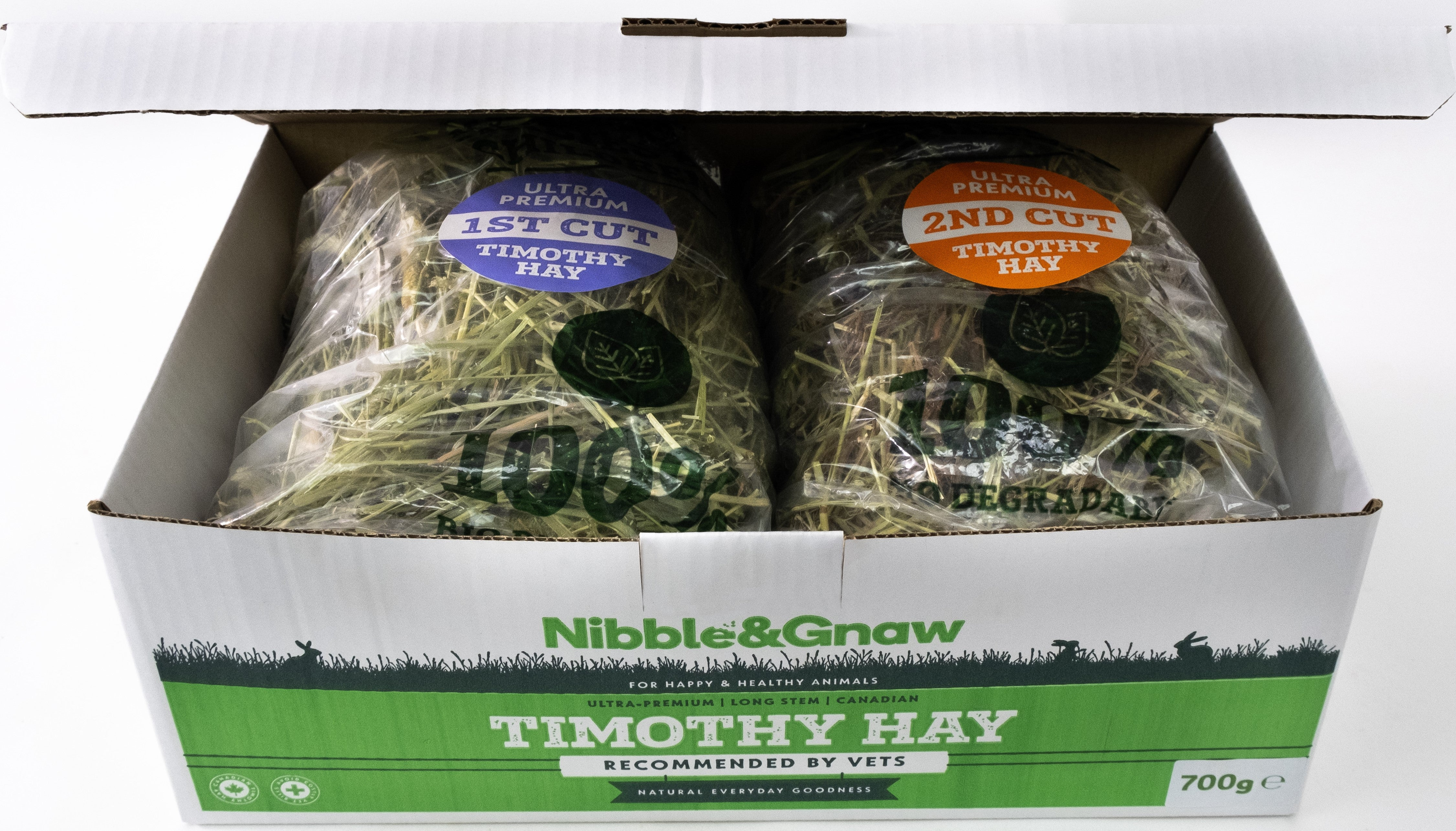 Try Me - First and Second Cut Ultra Premium Timothy Hay Starter Pack