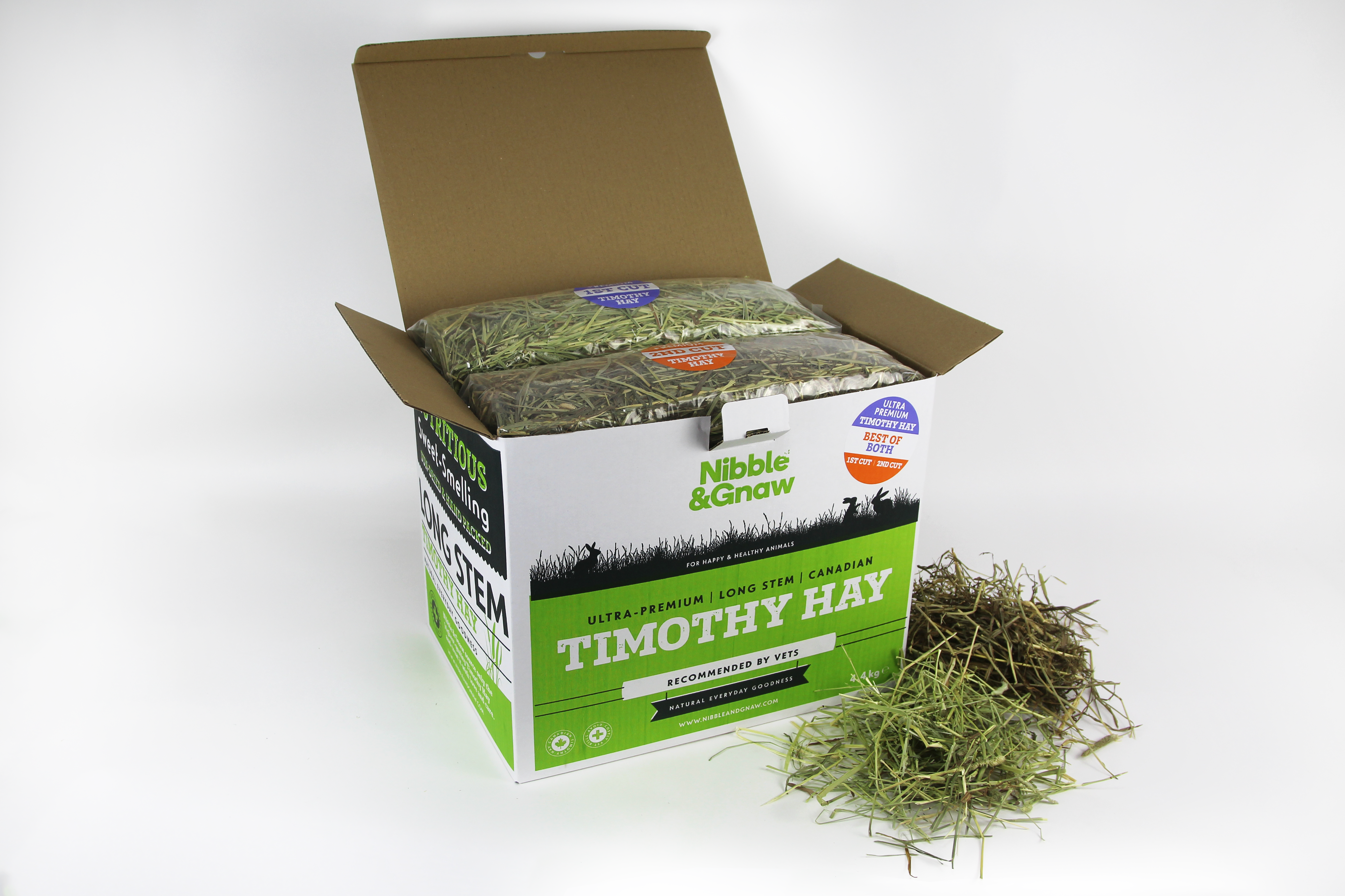 Best of Both - Ultra Premium Canadian Timothy Hay for Rabbits and Guinea Pigs