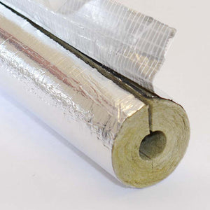 Rock Mineral Fibre Pipe Section