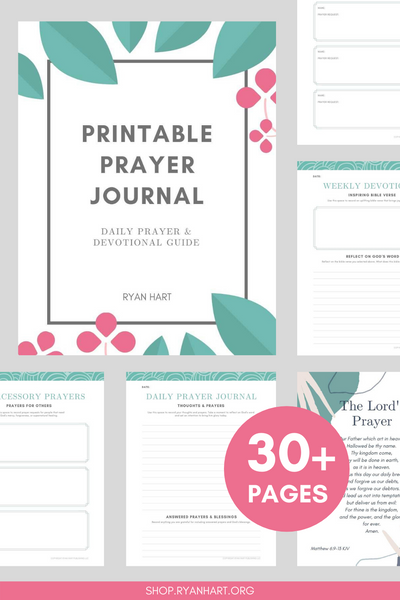 Printable Prayer Journal {30+ Pages}