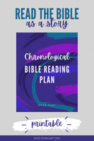 Chronological Bible Reading Plan {100+ Pages}