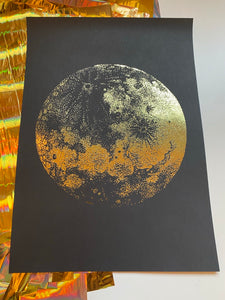 Prints ❥ The Moon