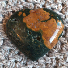 Load image into Gallery viewer, Jasper Heart ⟁ Brazilian Jasper • Unique Piece