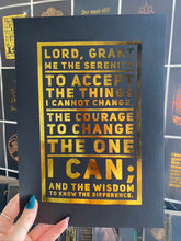 "Load image into Gallery viewer, Prints ❥ ""The Serenity Prayer"""