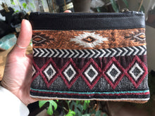 Load image into Gallery viewer, Leather Clutch Mia • Unique & Handmade • Pocket • Purse • Different Front & Back