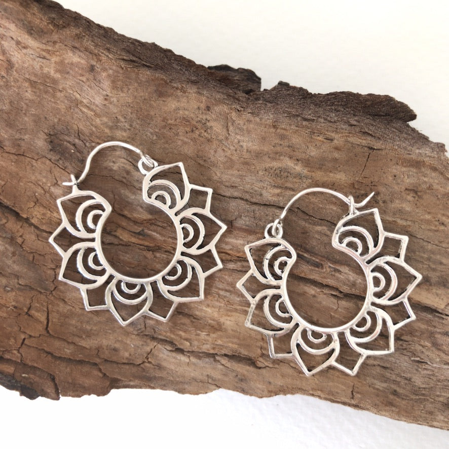 Ethnic Earrings • Mandalita