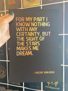 Prints ❥ Vincent Van Gogh