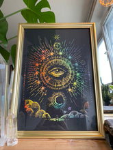 Load image into Gallery viewer, Prints ❥ Omniscient Eye In The Sky