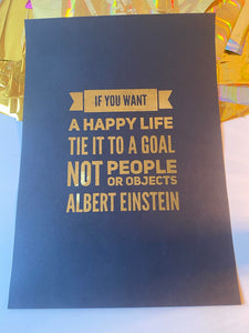Prints -❥ Albert Einstein