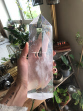 Load image into Gallery viewer, Crystal Point ⟁ Clear Quartz • Unique Piece (Large Size)