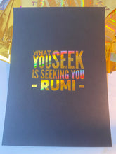 Load image into Gallery viewer, Prints ❥ Rumi