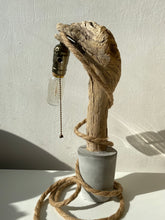 Load image into Gallery viewer, Lamp ❥ One of a Kind • Concrete & Wood #1