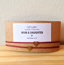 Load image into Gallery viewer, Matching Bracelets • Mum & Daughter