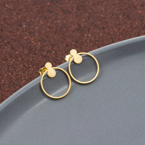 Stud Earrings • Minimal • Little Round