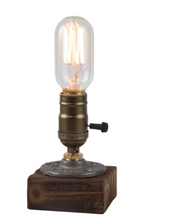 Load image into Gallery viewer, Lamp ❥ Wood • Dimmable