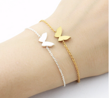 Load image into Gallery viewer, Charm Bracelet • Butterfly • Small