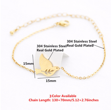 Load image into Gallery viewer, Charm Bracelet • Dove Bird