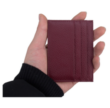 Load image into Gallery viewer, Wallet • Card Holder • Genuine Leather