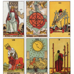 Tarot Cards - The Rider - Waite Tarot Deck