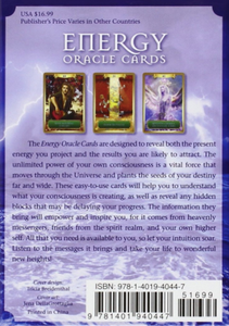 Tarot Cards • Energy Oracle Cards