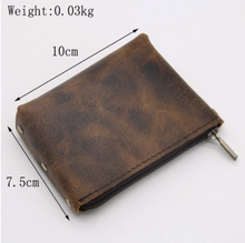 Load image into Gallery viewer, Wallet • Coins Holder • Card Holder • Genuine Leather