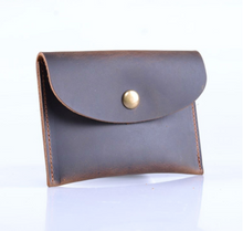 Load image into Gallery viewer, Wallet • Card Holder • Coins Holder • Genuine Leather