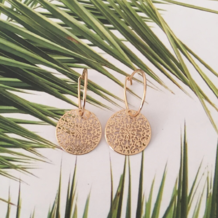 Timeless Earrings • Agata