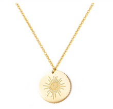 Load image into Gallery viewer, Necklace • Shining Sun