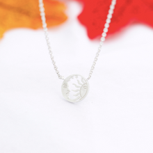 Load image into Gallery viewer, Necklace • Sun & Moon