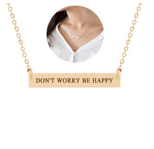 Load image into Gallery viewer, Necklace • Cute Message