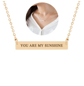 Necklace • Cute Message