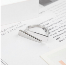 Load image into Gallery viewer, Ring • Stainless Steel • Double Way