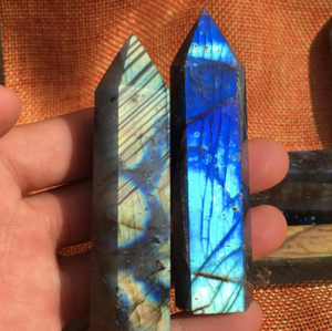 Crystals • Labradorite • Point