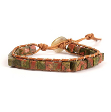 Load image into Gallery viewer, Bracelets • Square Stones