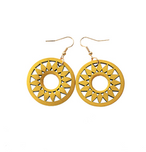 Load image into Gallery viewer, Earrings • Wooden • Rounda