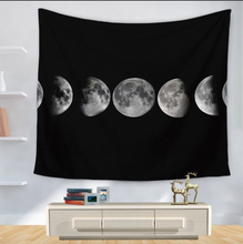 Load image into Gallery viewer, Tapestry • Wall Decor • Moon Phases