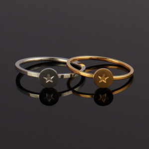 Ring • Stainless Steel • Star