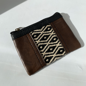 Leather Clutch Set of 2 • Unique & Handmade • Pocket • Purse