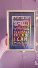 "Load and play video in Gallery viewer, Prints ❥ ""The Serenity Prayer"""