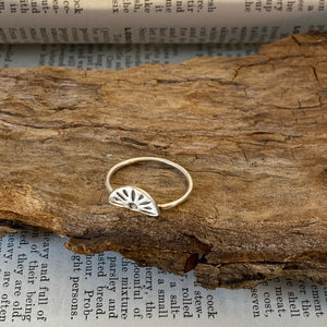 Silver Ring • Rising Sunshine • 925 Sterling Silver