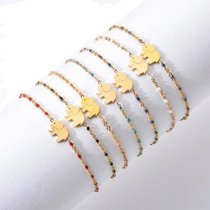Bracelets - Elephant - Enamel Collection