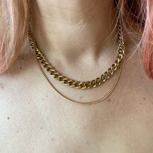 Load image into Gallery viewer, Double Chain Necklace • Stainless Steel