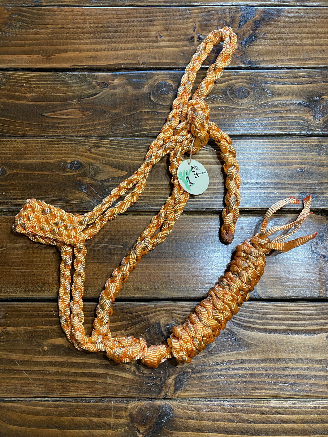 ICR Orange Mule Tape Halter