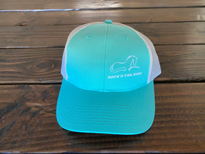 Mint/White Hat