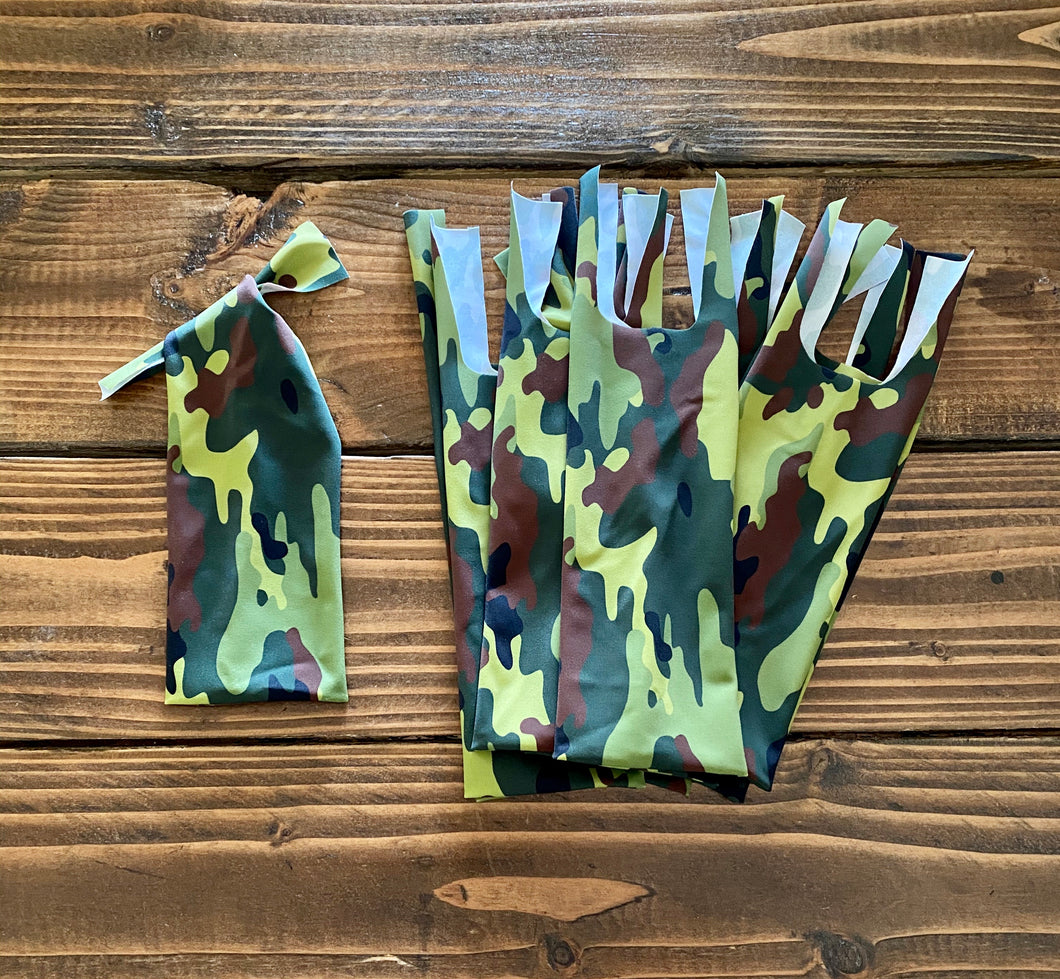 Camo - 10 Two-String Mane Bags