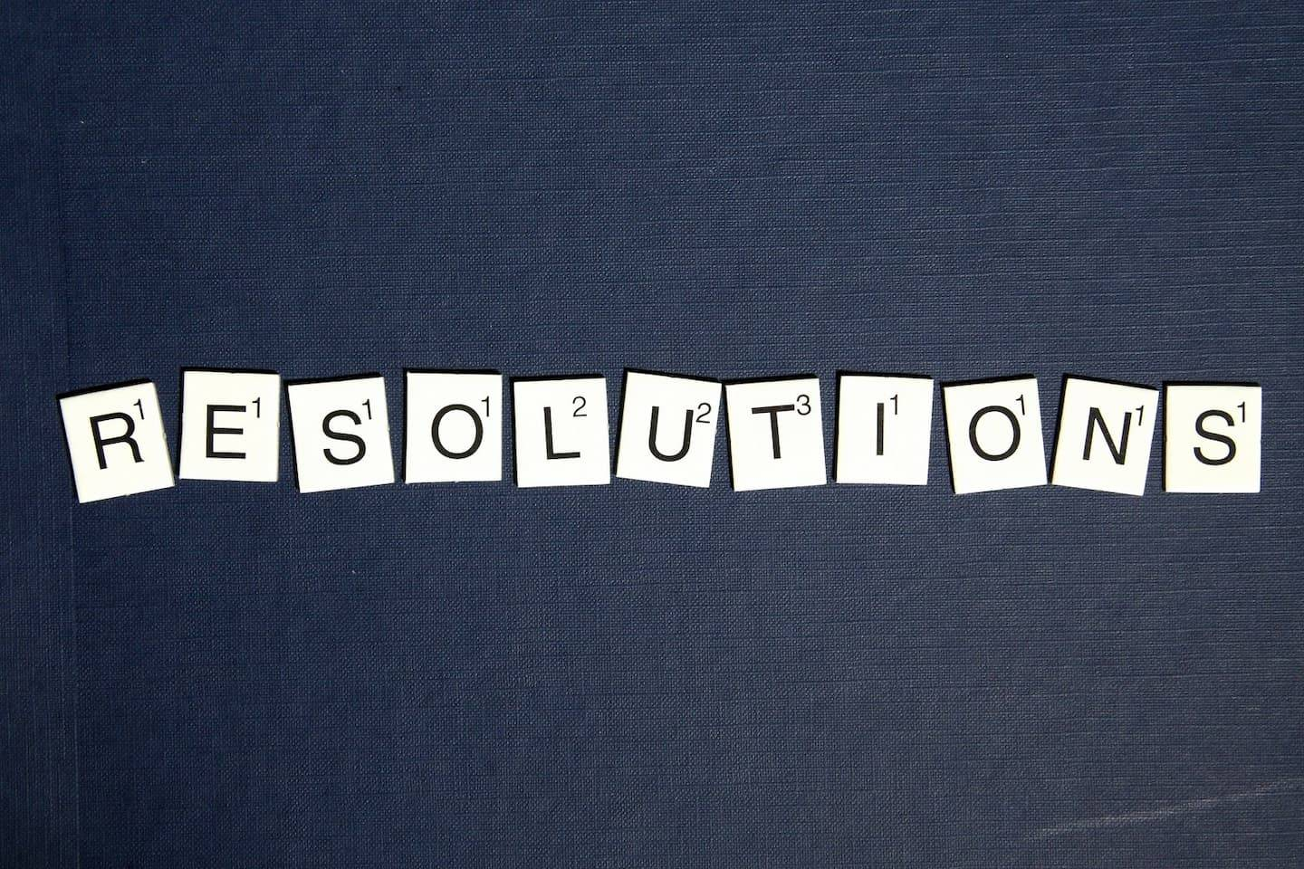 Making Year-Round Resolutions